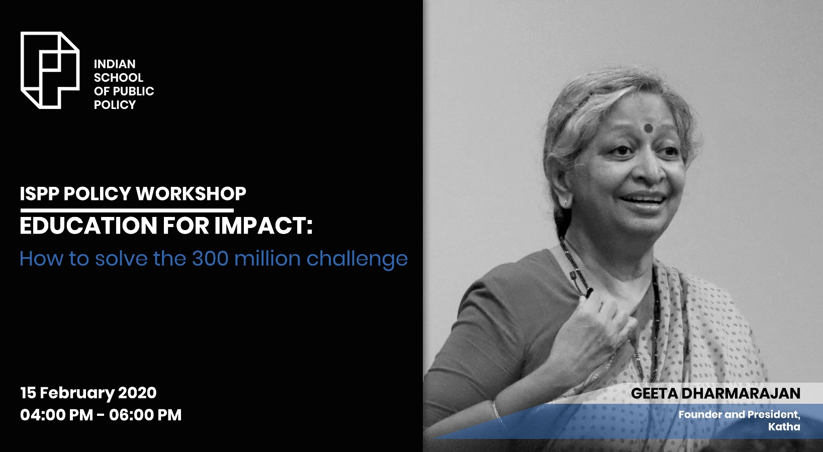 Education for Impact : How to solve the 300 million challenge