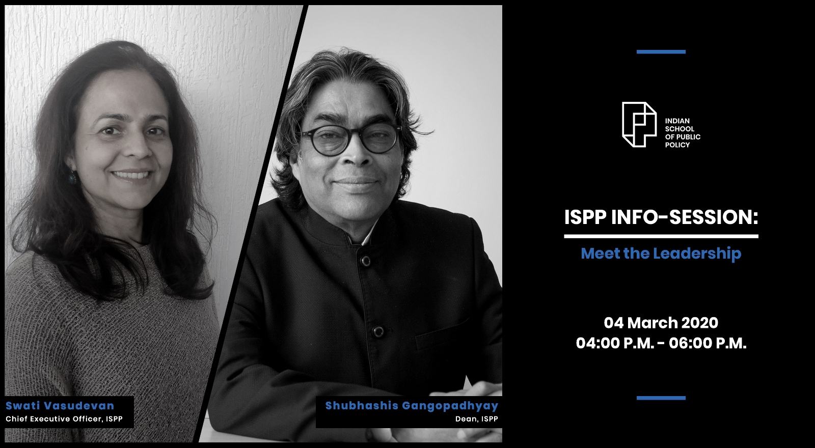 ISPP Info-Session: Meet The Leadership