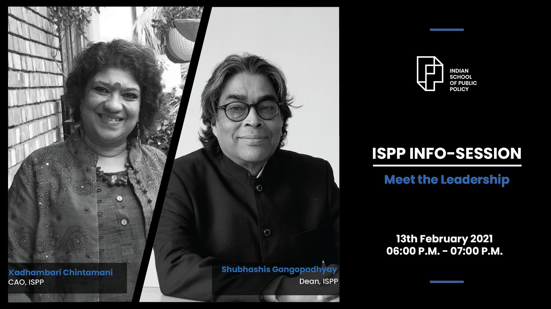 ISPP Info Session: Meet the Leadership