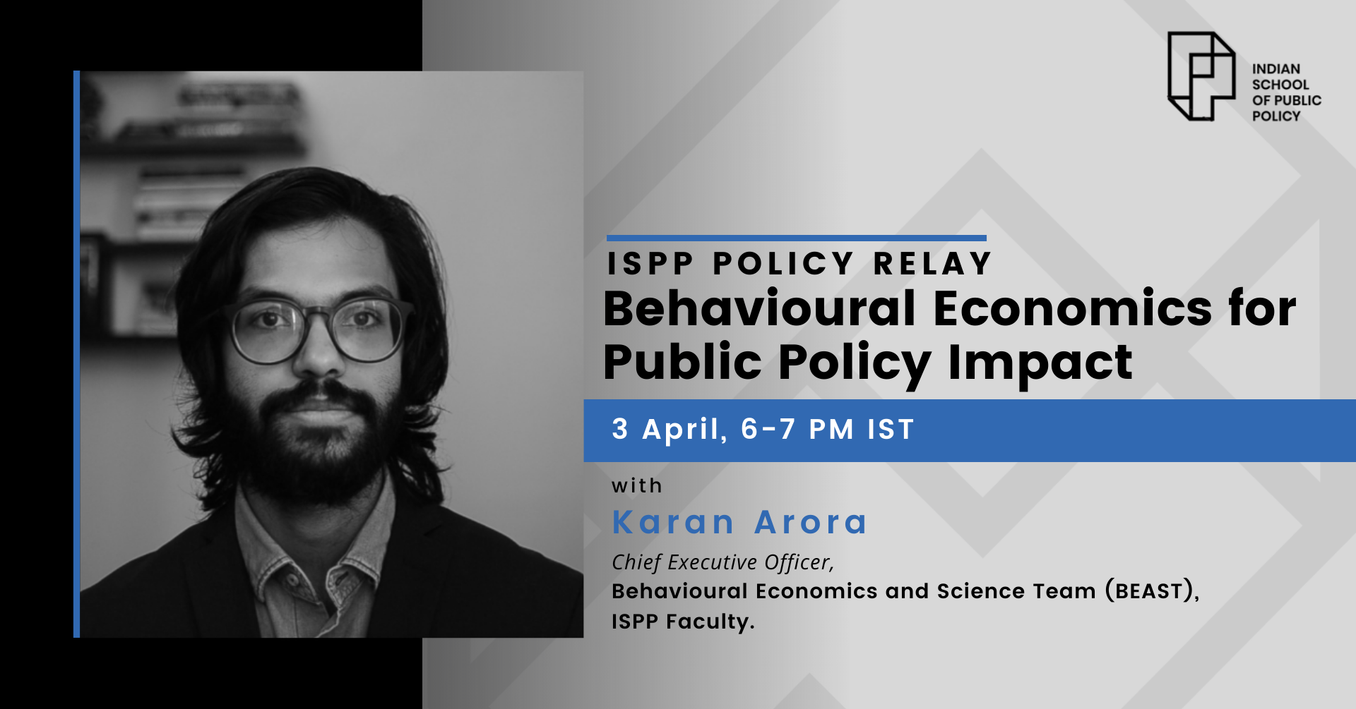 ISPP Policy Relay: Behavioral Economics for Public Policy Impact